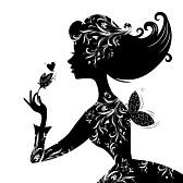22749289-Силуэт-красивая-стильная-женщина