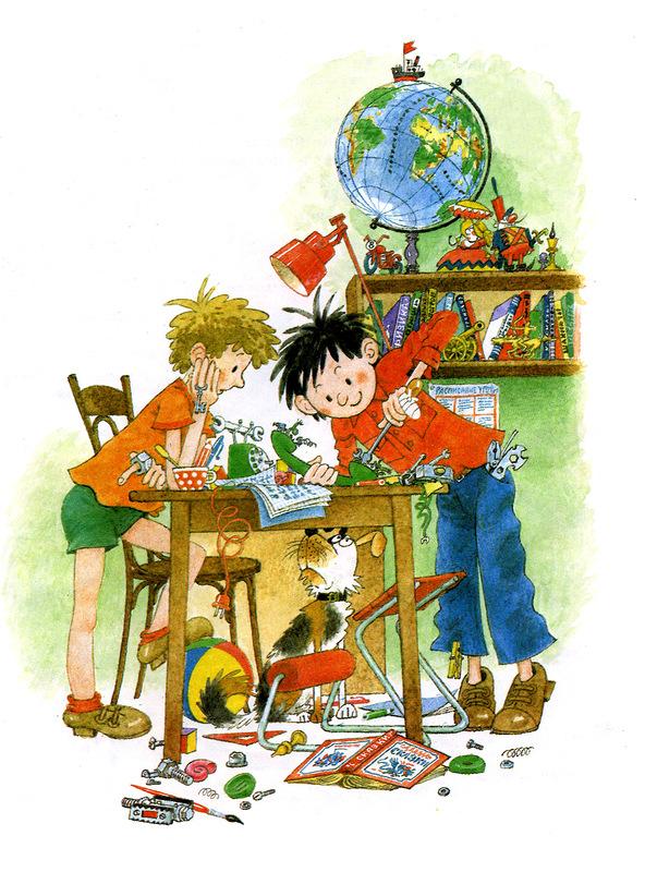 иллюстрация к книги Носова